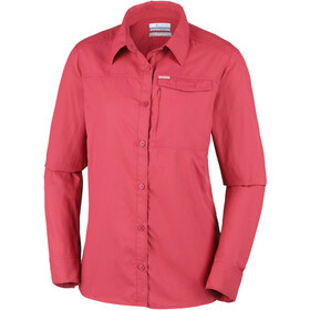 Columbia Silver Ridge 2.0 Camiseta de manga larga Mujer, red coral